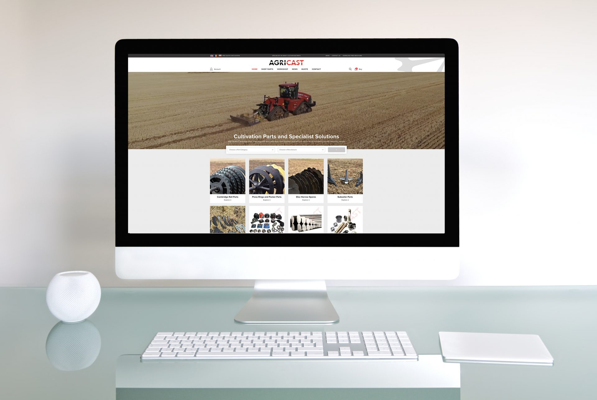 Agricast's Investment Continues With A New Website